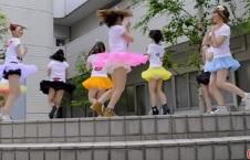 パンチラ盗撮・踊ってみたとか文化祭のダンスでパンチラしてる女子校生達