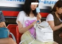 パンチラ盗撮顔有・女子大生やギャル、お姉様達のスカートを捲りパンツ下半身逆さ撮りしまくる
